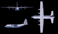 Hercules C130 OBJ Format
