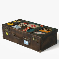 travel suitcase 3d model