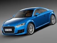 3d model 2015 audi tt