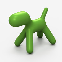 Eero Aarnio green dog chair