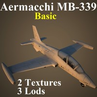 3d model aermacchi basic