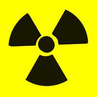 radiation symbol 3d max