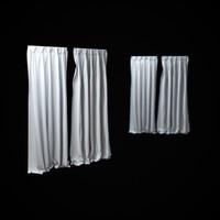 curtains 3d max