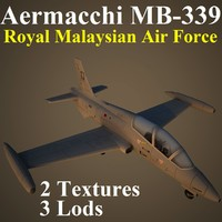 aermacchi rmf 3d max