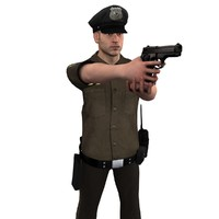 rigged police officer max