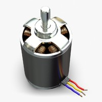 obj brushless dc electric motor
