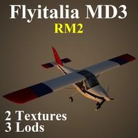 3d flyitalia md3 rm2 3