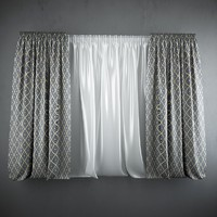curtains blinds 3d max