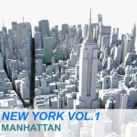 new york manhattan vol c4d