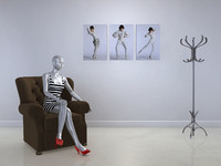 mannequin display 3d c4d