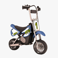3d cartoon electrical bike 1