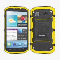 ruggear rg700 smartphone outdoor 3d 3ds