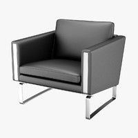 chair hans j wegner 3d max