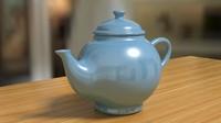 3d model teapot tea