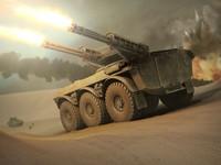 3d military apc