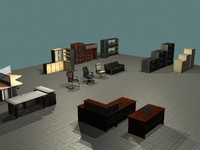 3dsmax office furniture filing