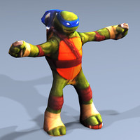 3d ninja turtle model