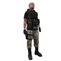 mercenary soldier max