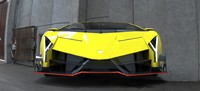 lamborghini veneno ready 3d model