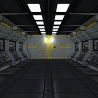 sci-fi corridor builder mht-01 3d max