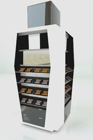 cabinets shelve 3d model