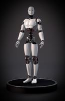 3d model futuristic robot