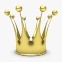 royal crown 3D models