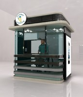 3d model disabled store kiosk