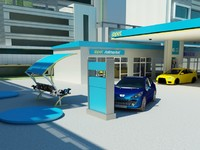 opet gas station 3d 3ds