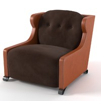 3d model promemoria gilda armchair