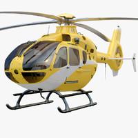 3dsmax eurocopter ec 135