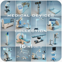 medical devices 16 1 3d max