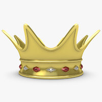 realistic crown 2 3ds
