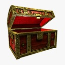 wooden chest 3D models
