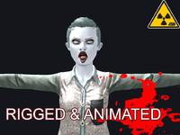 x female zombie