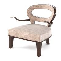promemoria roka armchair 3d model