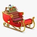 Christmas Sleigh 3D models