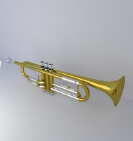 free 3ds model trumpet
