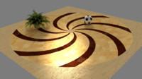 Parquet Spiral 03