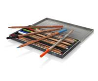 obj pencils polycolor