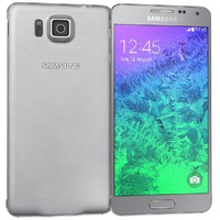Samsung Galaxy Alpha Sleek Silver
