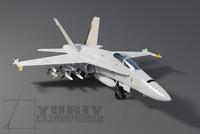 f-18 f 18 3d model