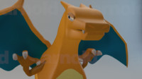 charizard pokemon tv obj