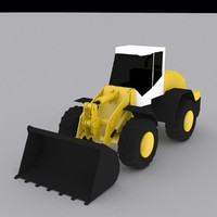 3d model wheel loader l538