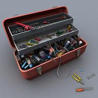 toolbox 3d obj