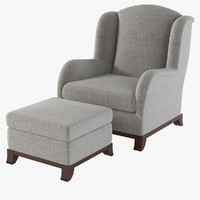 promemoria madame armchair 3d model