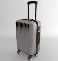 3d model of bag suitecase baggage