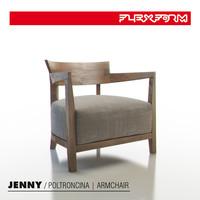 flexform jenny armchair 3d max