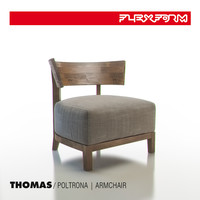 flexform thomas armchair 3d max