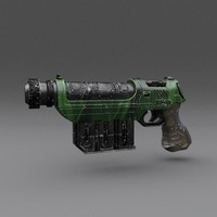 Scifi Gun 01
